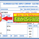 IESCO (WAPDA) Duplicate Bill