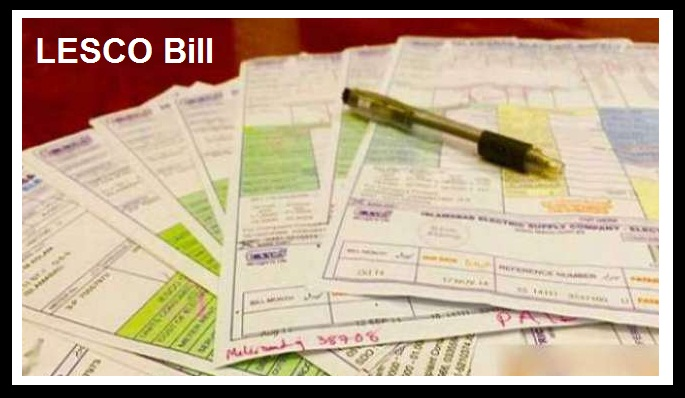 Government Grant subsidy in LESCO Bill