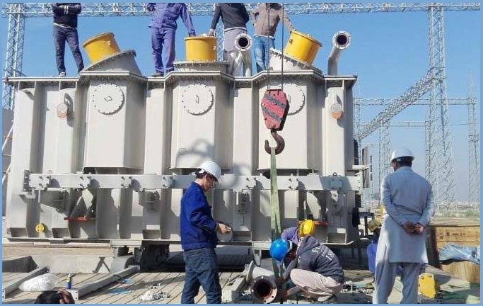 Eighty Five Percent (85%) Work of Pakistan's First High Voltage Direct Current (HVDC) Transmission Line Project is completed.